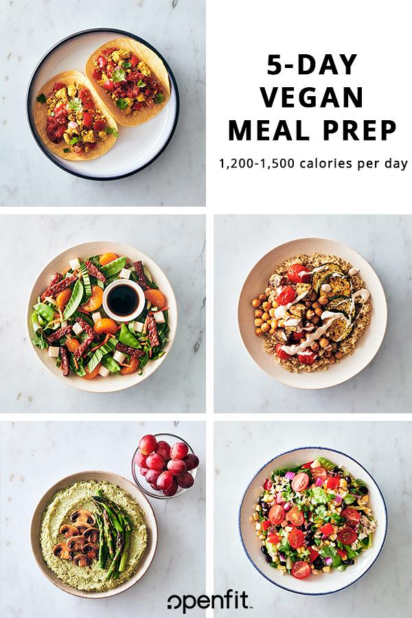 5-Day Vegan Meal Prep