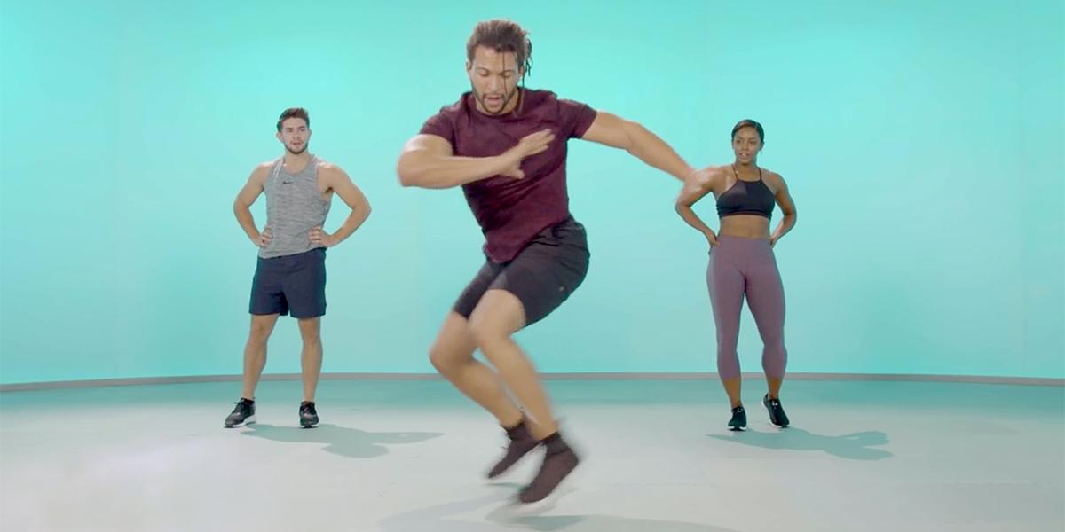 bodyweight hiit workout - 600 secs - devin wiggins