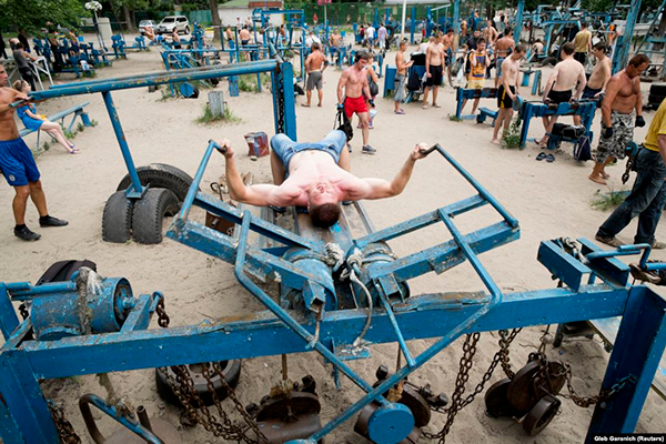 Outdoor Gyms - Kachalka Outdoor Gym