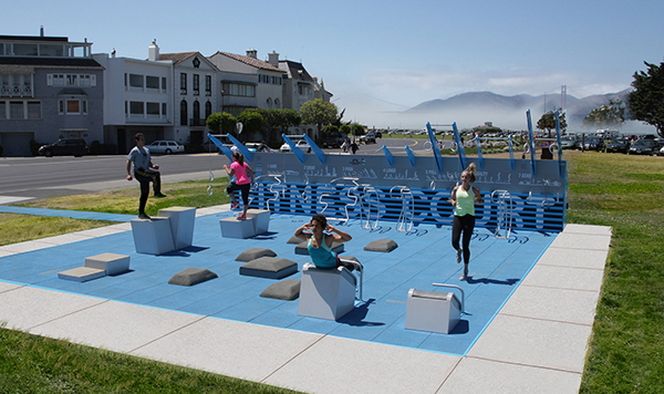Outdoor Gyms - National Fitness Campaign