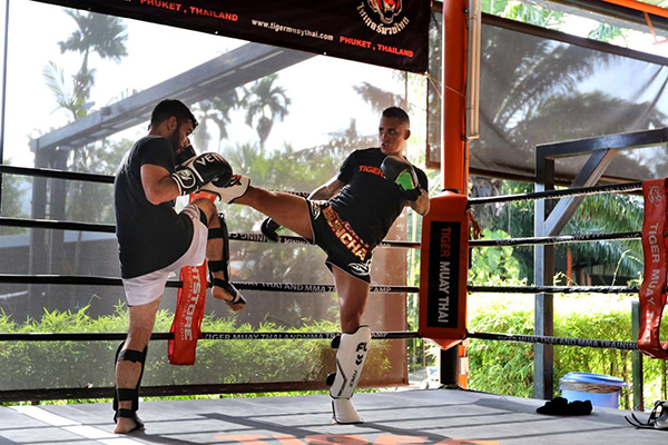 Outdoor Gyms - Tiger Muay Thai