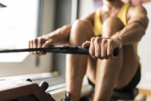 HIIT Rowing -- calories burned rowing