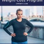 courir pour la broche de perte de poids