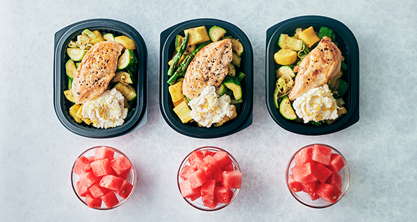 Xtend Barre Meal Prep - Recipes