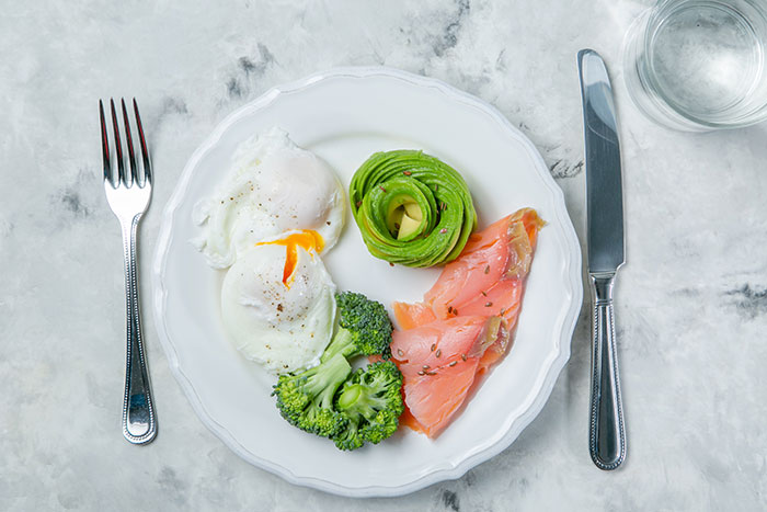 Are All Calories Equal - high protein foods on a plate