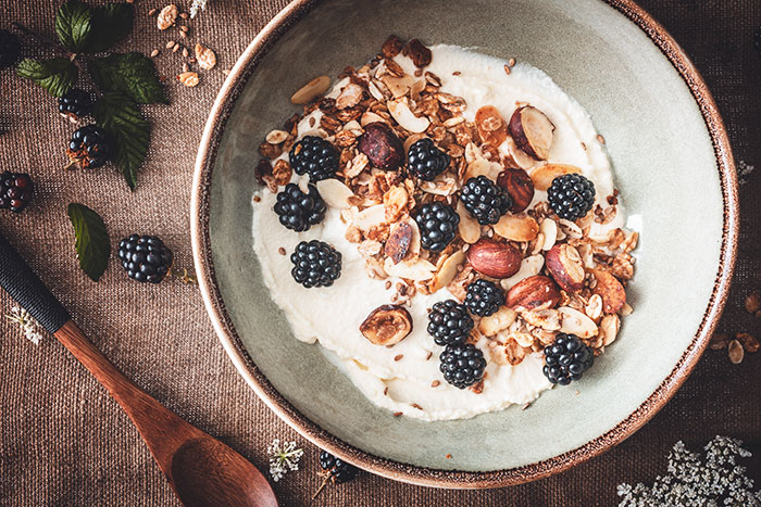 Are All Calories Equal - muesli berries and yogurt
