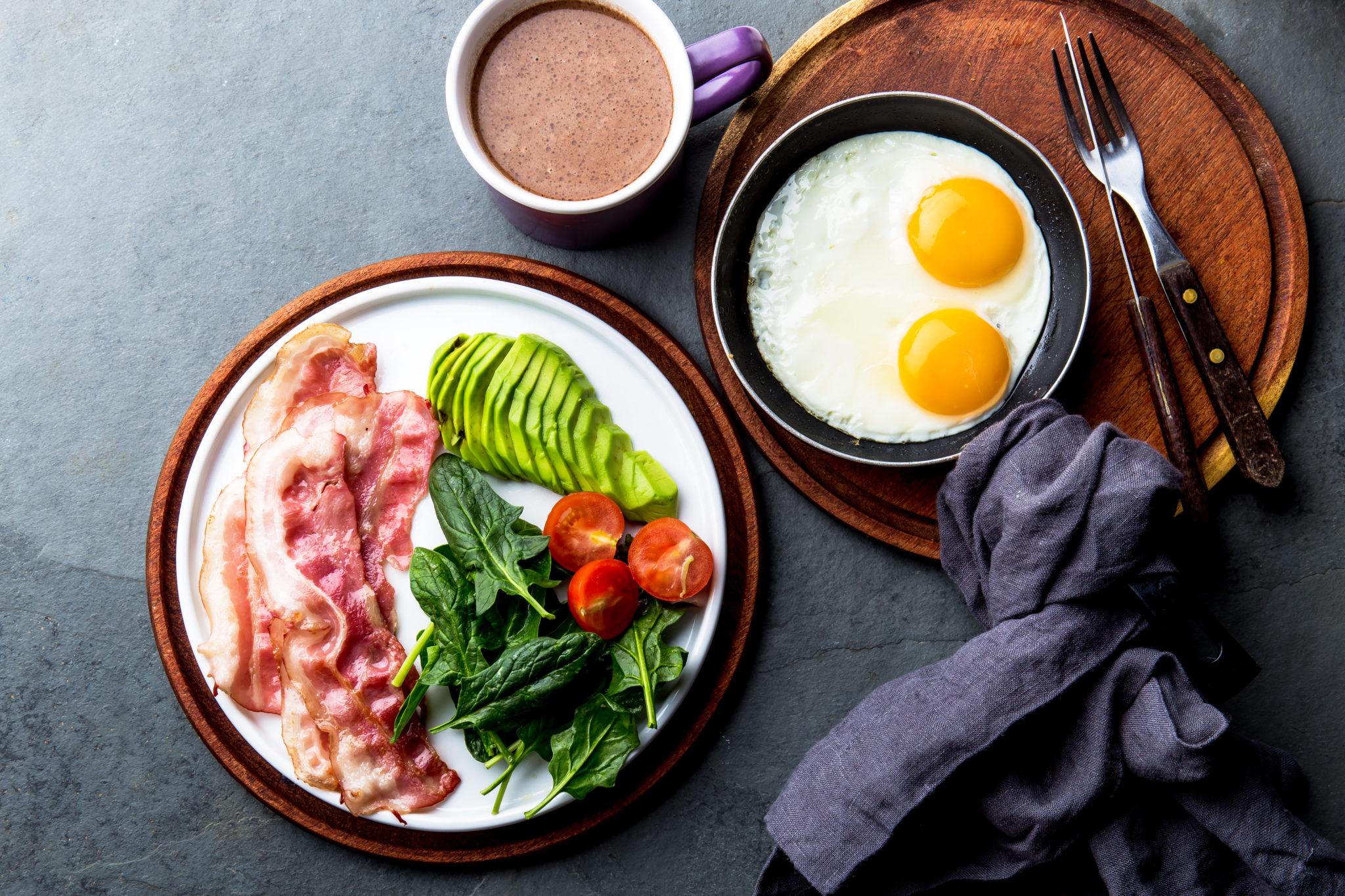 dirty keto- keto breakfast