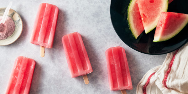 no bake meal prep- watermelon popsicles