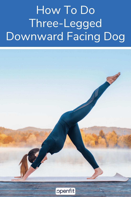 downward facing dog - pin image