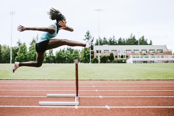 foods high in phosphorus- woman jumping