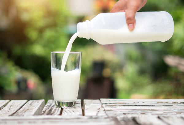 foods high in phosphorus- milk