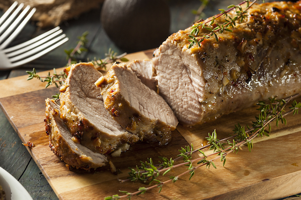 foods high in phosphorus- pork