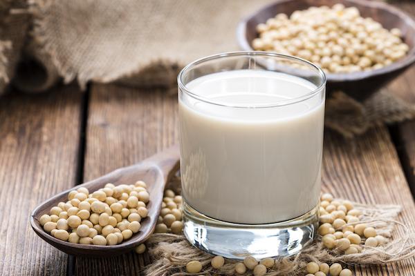 foods high in phosphorus- soy milk