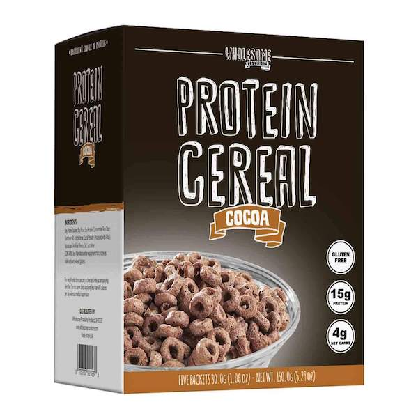 keto cereal- protein cereal