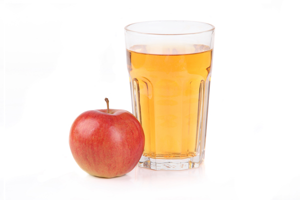sugar in fruit- apple and apple juice