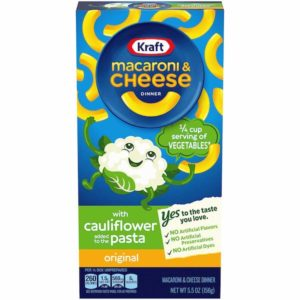 kraft cauliflower pasta
