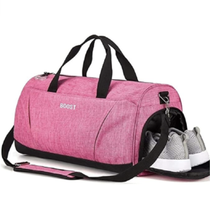 Boost Sports Gym Bag with Wet Pocket and Shoe Compartment -- best gym bags