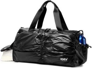 Metallic Women Stylish Gym Duffle Bag--best gym bags