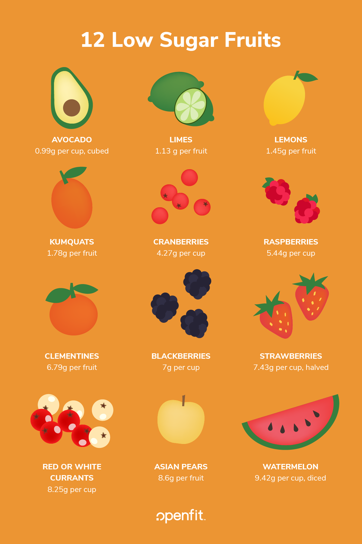12 Low Sugar Fruits to Enjoy Including Berries, Limes, and ...