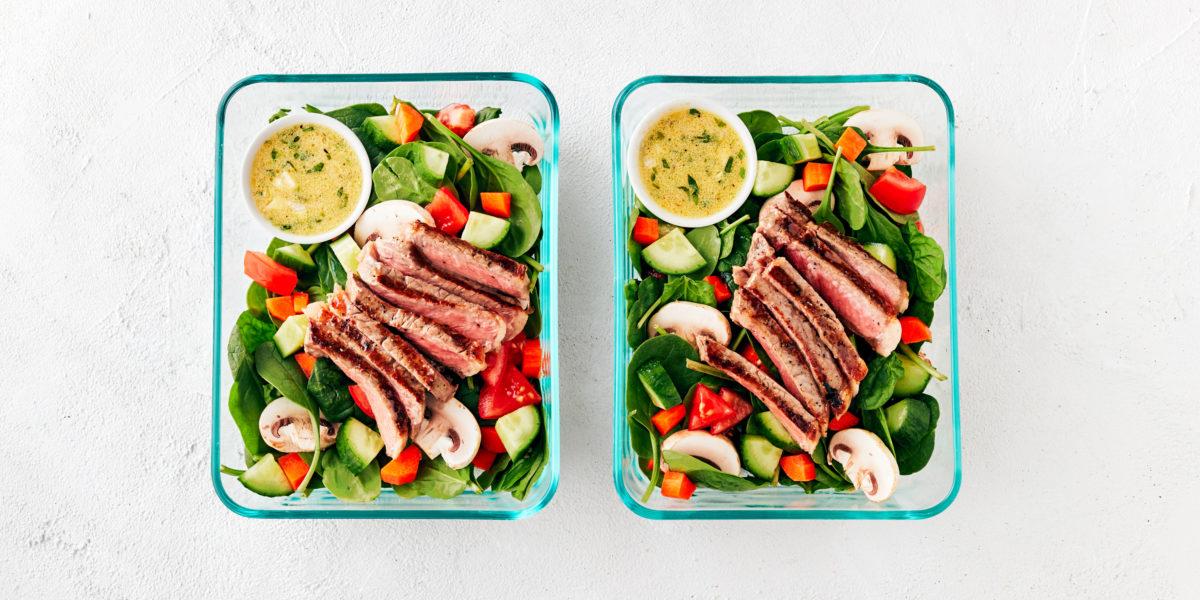 Steak Salad with Lemon Tarragon Vinaigrette