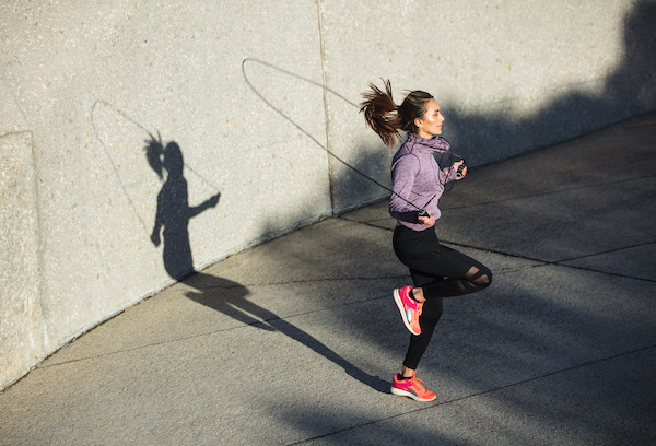jump- rope burning calories