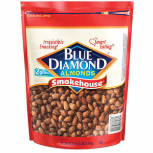bag of Smokehouse Almonds from Blue Diamond