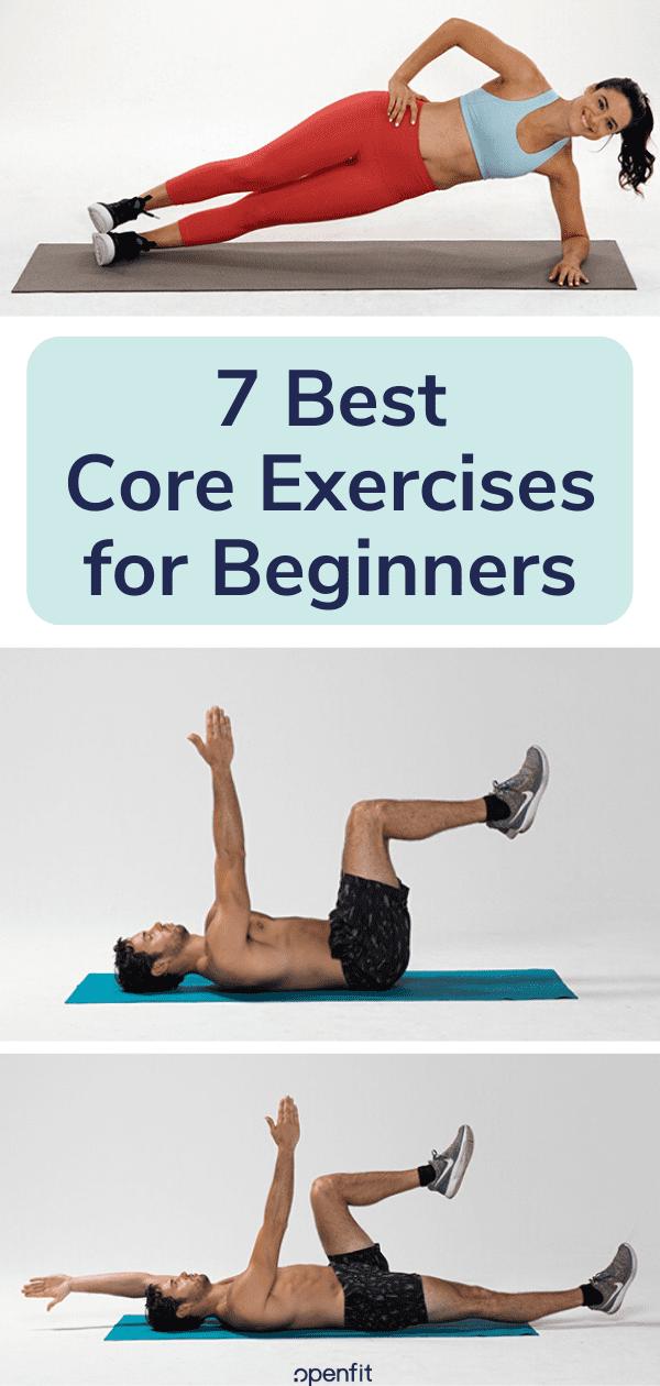core exercises - pin image