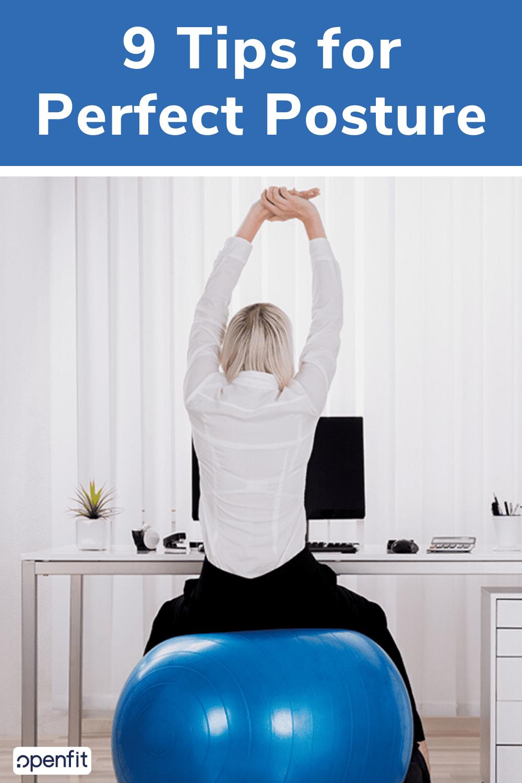 perfect posture - pin image