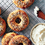 keto bagel recipe - everything seasoning
