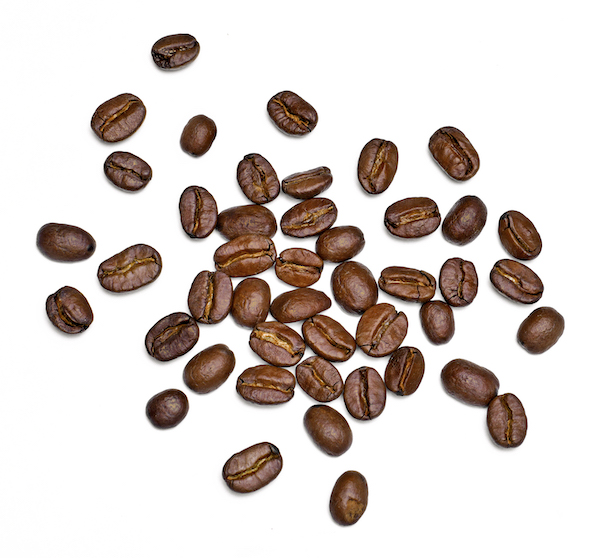 decaf coffee- coffee beans