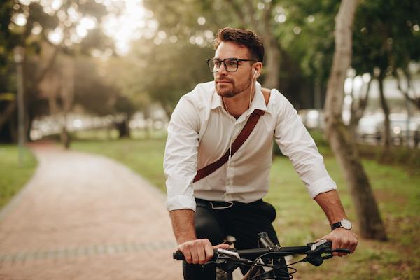 healthier commute- biking to work