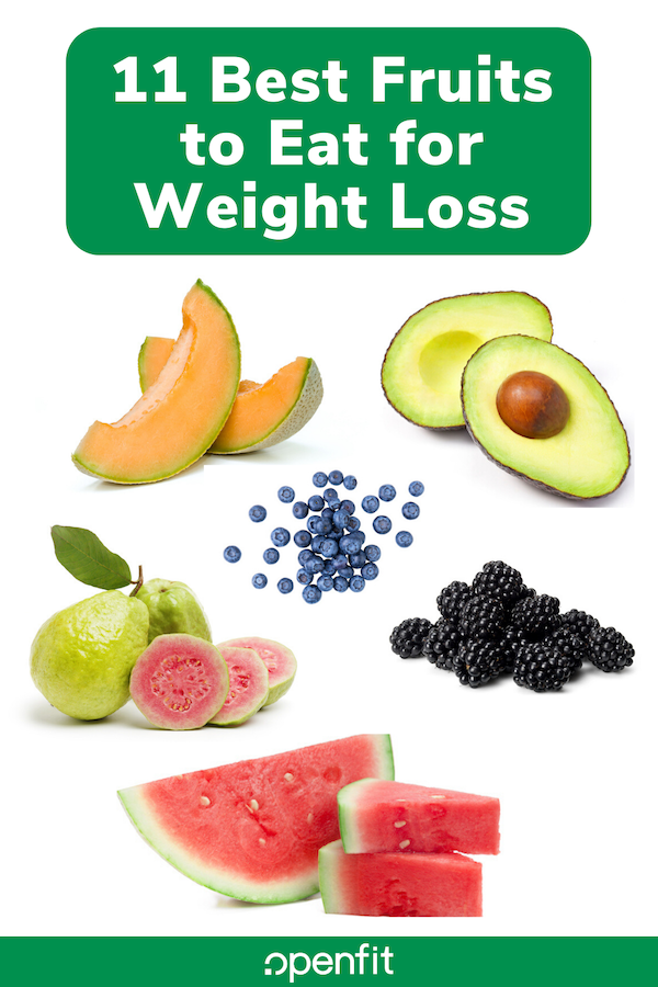 fruits for weight loss pin