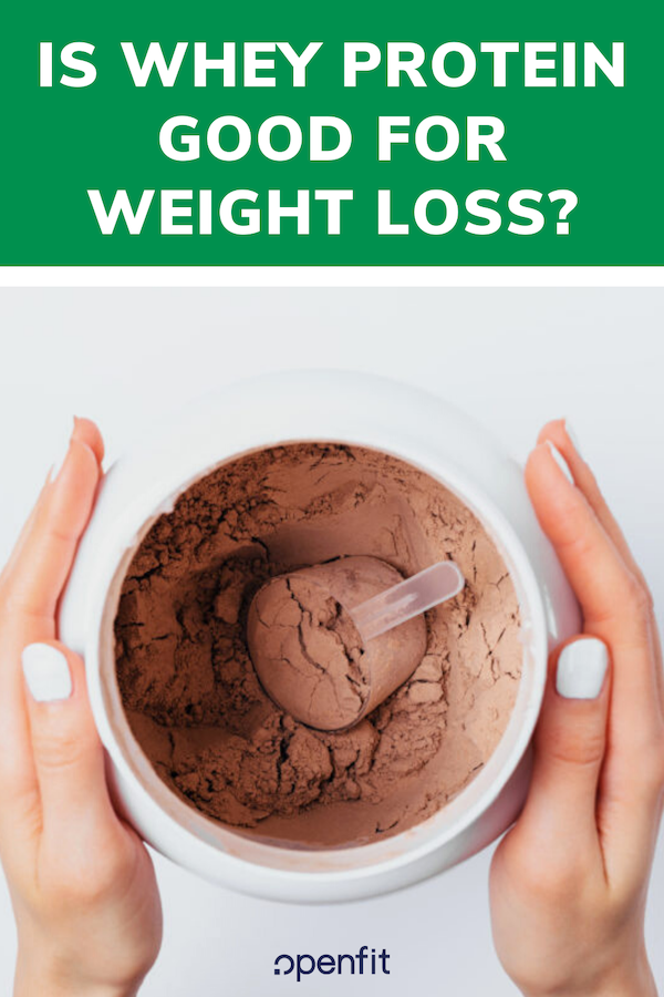 whey protein weight loss pin