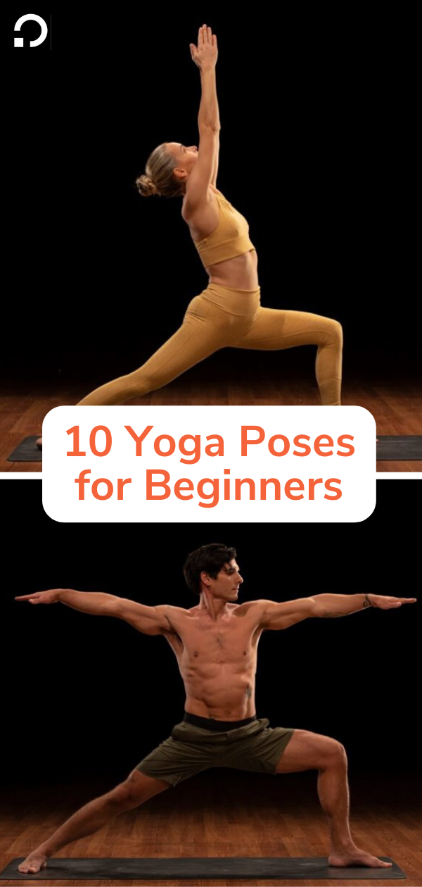 yoga poses for beginners pin