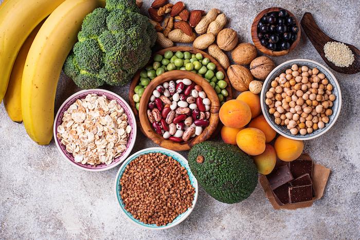 assorted foods- bluezone diet