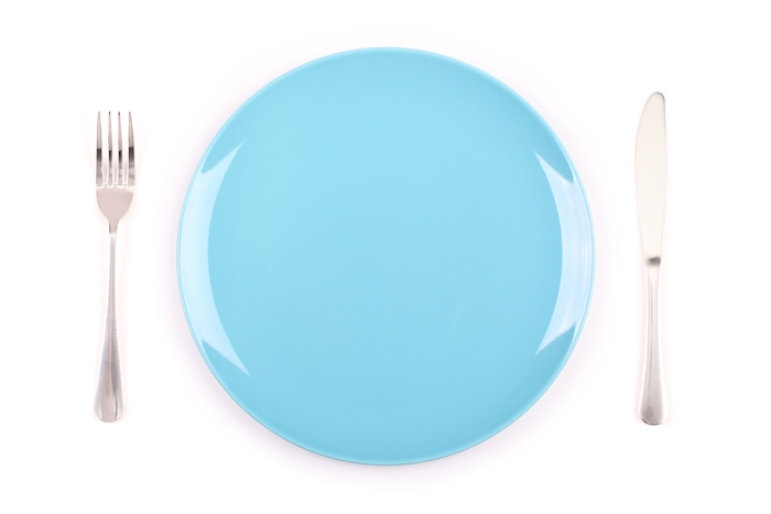 empty plate- alternate day fasting