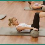 pilates hundred exercise pin