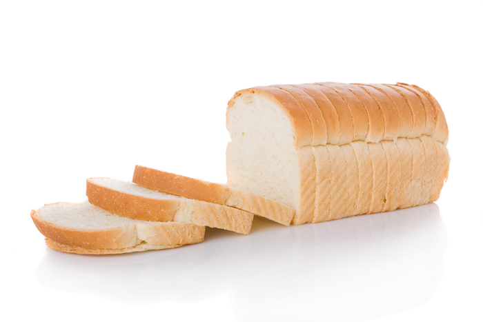 refined carbs- white bread
