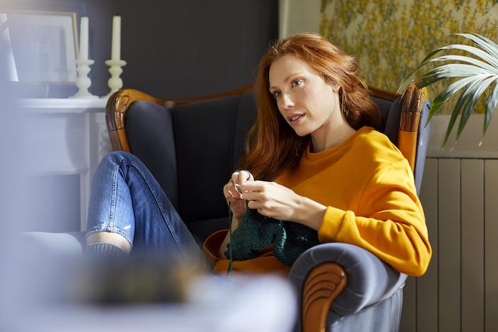 knitting- emotional eating