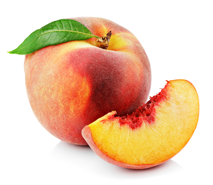 peach- low glycemic fruits