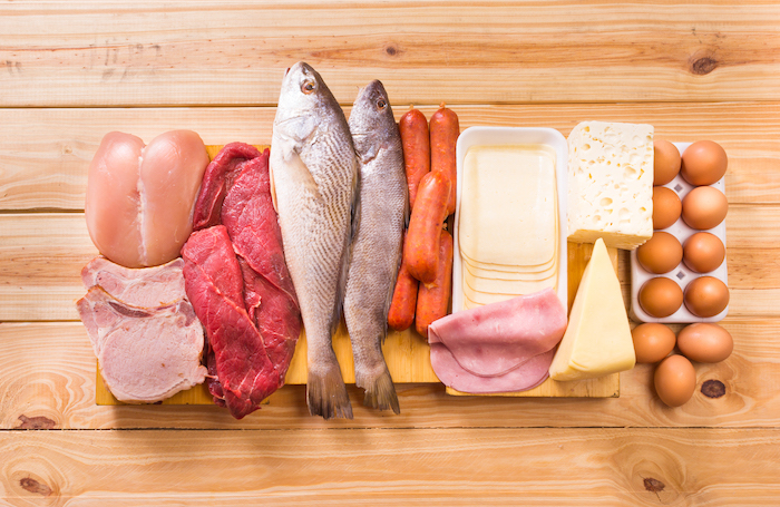 meat eggs and dairy