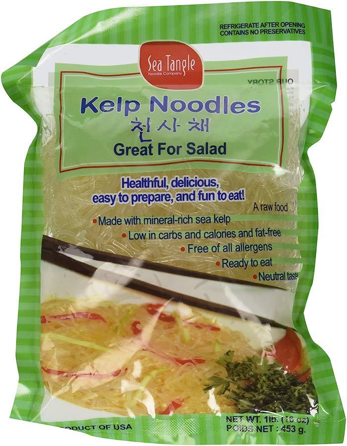kelp noodles- keto pasta