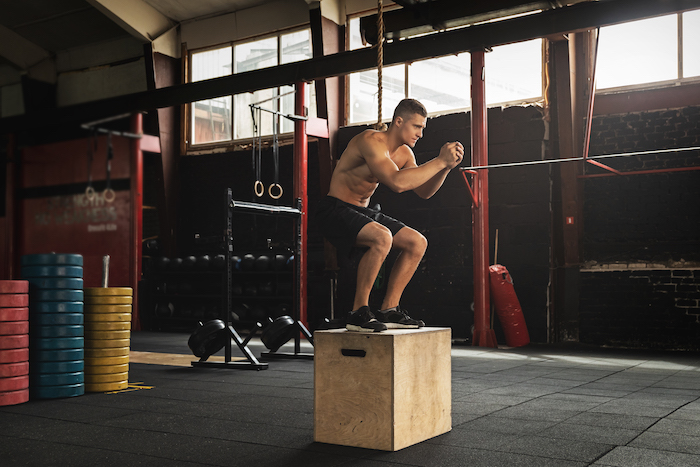 box jump- emom workouts