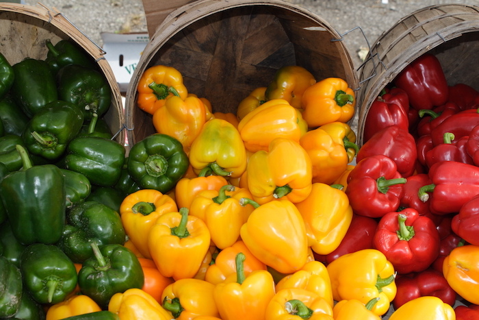 colorful peppers- flavonoids