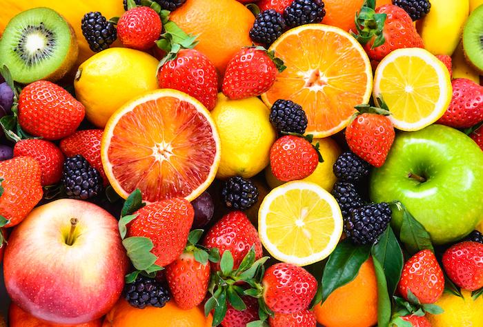 fresh fruit- flavonoids