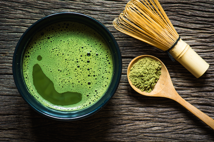 no sugar drinks- matcha tea