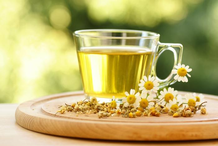 chamomile tea- healthy teas