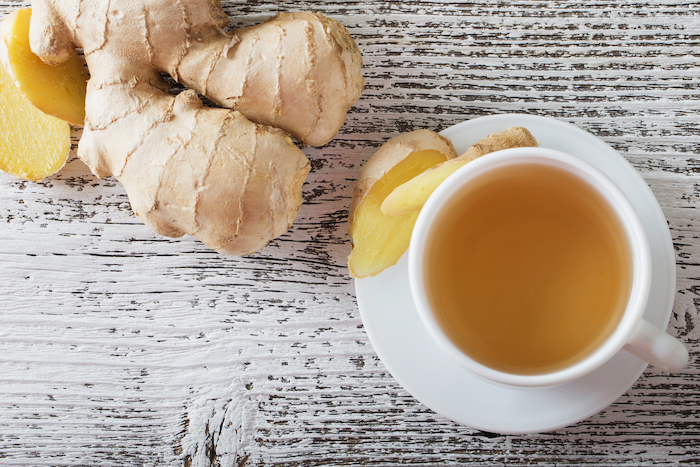 ginger tea healthy tea