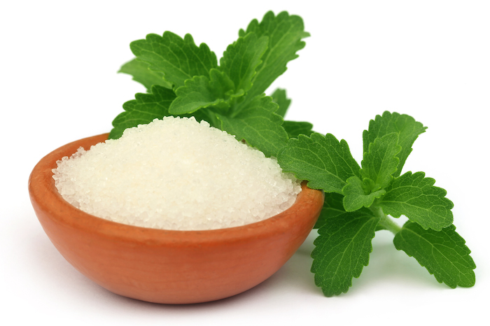 what is stevia - stevia in bowl