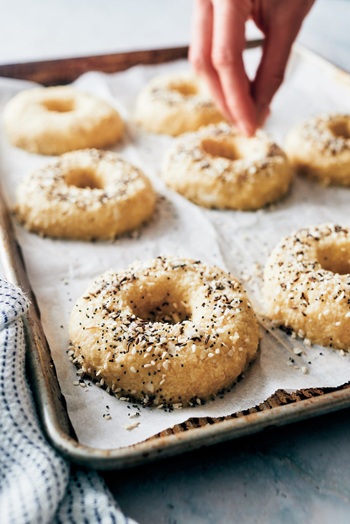 keto bagels - recipe step 2